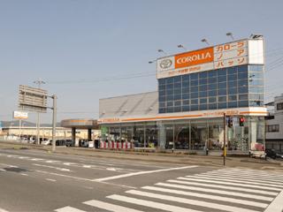 トヨタカローラ京都 京田辺店の外観写真