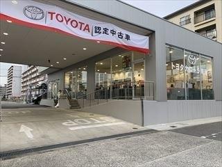 トヨタカローラ南海 新喜連プラザの外観写真