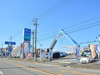 トヨタカローラ新大阪 U-Car交野店の外観写真