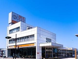 トヨタカローラ鳥取 米子店の外観写真