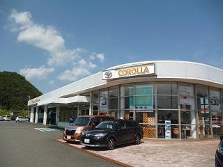 トヨタカローラ鳥取 桜ヶ丘店の外観写真