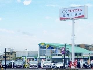 トヨタカローラ岡山 ドリムス岡山店の外観写真