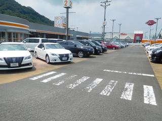 トヨタカローラ香川 国分寺店 第2展示場の外観写真