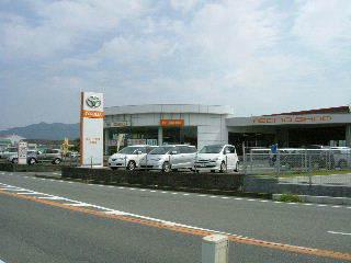 トヨタカローラ佐賀 武雄店の外観写真