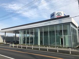 ネッツトヨタ千葉 八千代店の外観写真