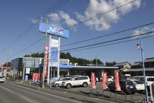 ネッツトヨタ愛知 新城店の外観写真