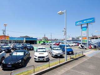 ネッツトヨタ名古屋 U-Carプラザ100一宮インター店の外観写真