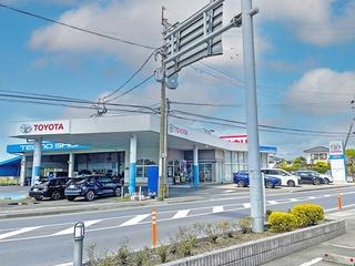 ネッツトヨタ鹿児島 松元店の外観写真