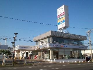 ひだかトヨタ自動車販売合同会社 しずない東店の外観写真